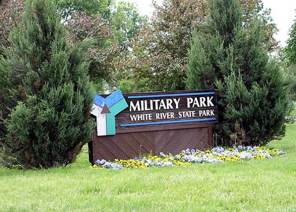 Military Park in Downtown Indianapolis