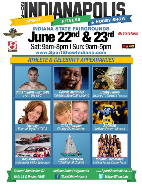 Indianapolis Sport, Fitness and Hobby Show, June 22-23