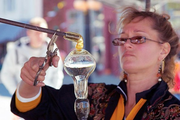 Hot Blown Glass