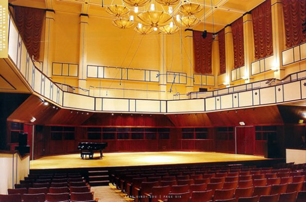 Ruth Lilly Performance Hall
