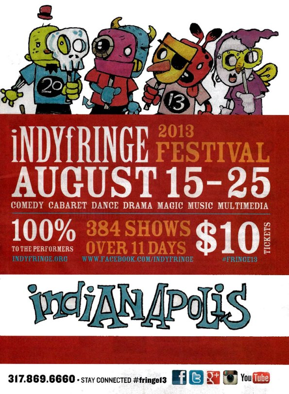 IndyFringe Program Cover