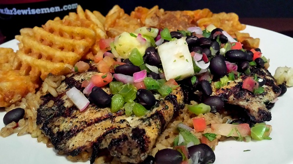 Blackened Chicken at Scotty's Brewhouse