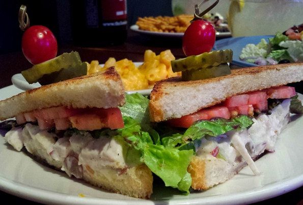 Chicken Salad Sandwich at Scotty's Brewhouse