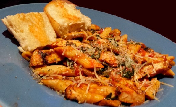 Penne Pasta at Scotty's Brewhouse