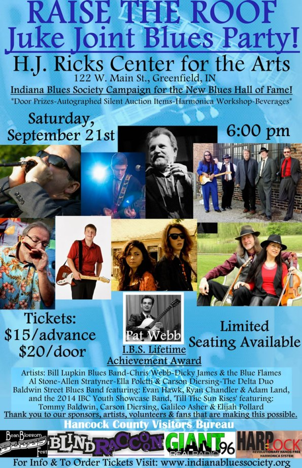 Juke Joint Blues Party, Sept. 21
