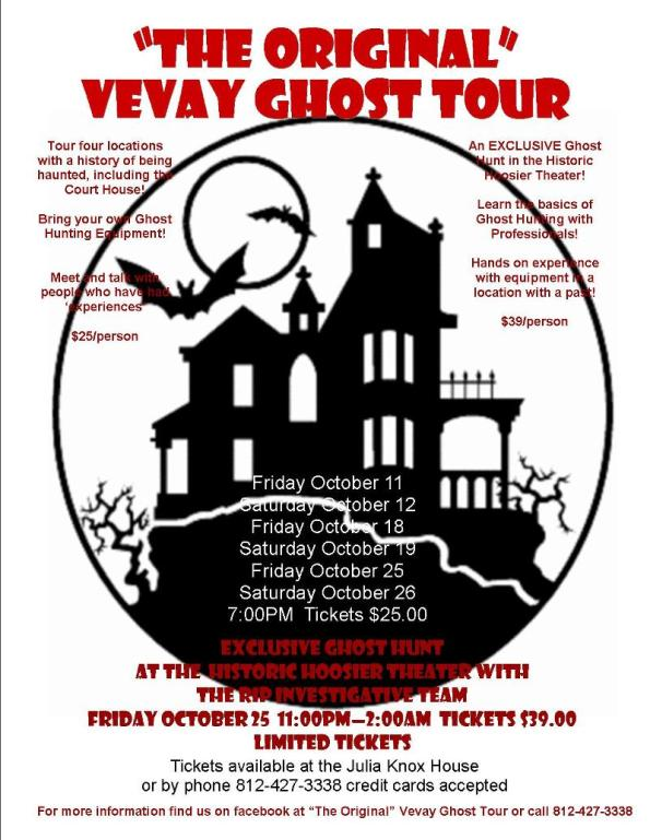Vevay Ghost Tour