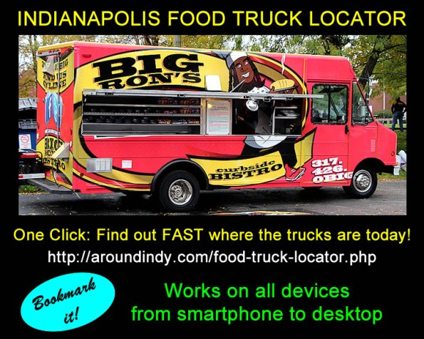 Indianapolis Food Truck Locator Service