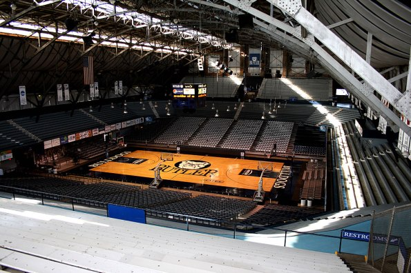Hinkle Fieldhouse at Butler University.