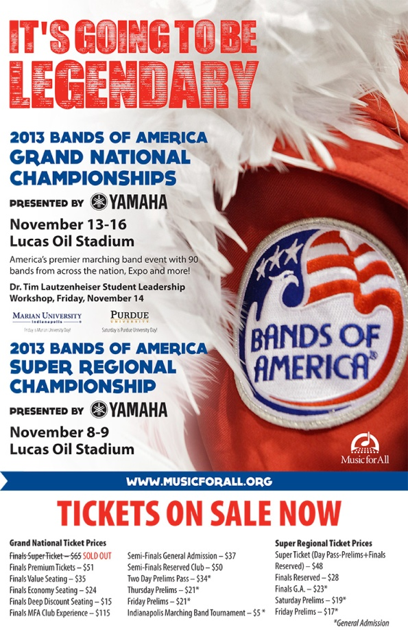 Bands of America Poster