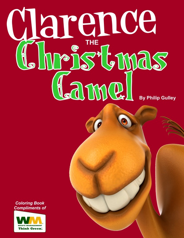 Clarence the Christmas Camel