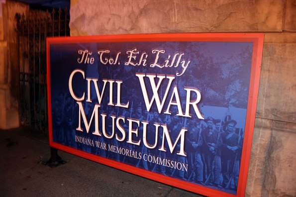 Eli Lilly Civil War Museum on Monument Circle