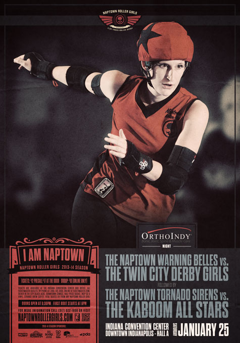 Naptown Roller Girls, Jan. 25