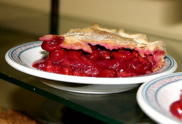 Cherry Pie at Storie's Restaurant in Greensburg, Indiana.