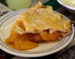 Peach Pie at Storie's Restaurant.