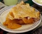 Peach Pie at Storie's Restaurant.