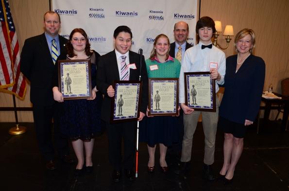 Kiwanis Abe Lincoln Awards