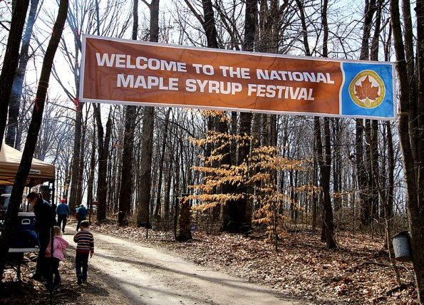National Maple Syrup Festival in Medora