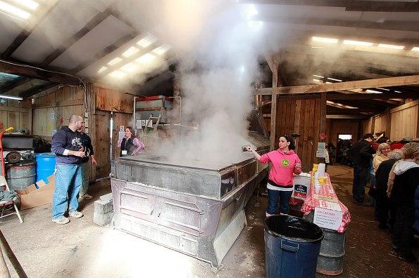 The Evaporator Room at LM Sugarbush