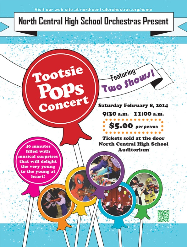 Tootsie Pops Concert at North Central High School