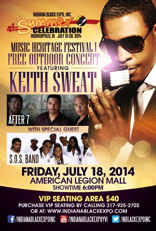 Indiana Black Expo Music Heritage Festival I