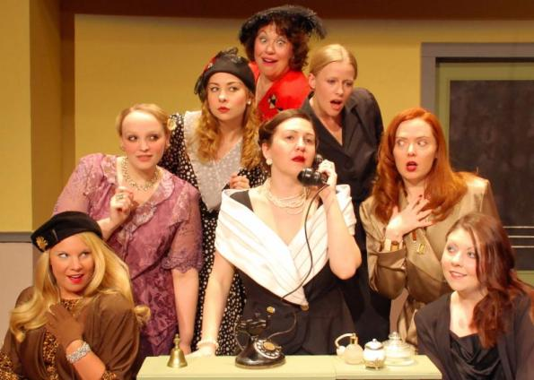 'The Women' at Buck Creek Players Theatre.