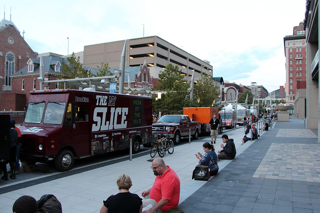 Indy Food Trucks Georgia Street