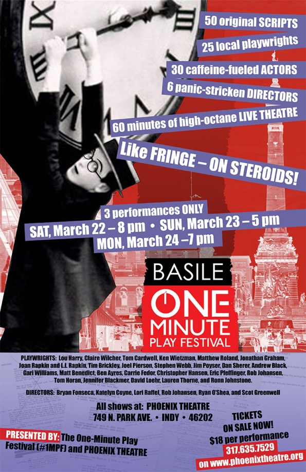 Basile One-Minute Play Festival at Phoenix Theatre