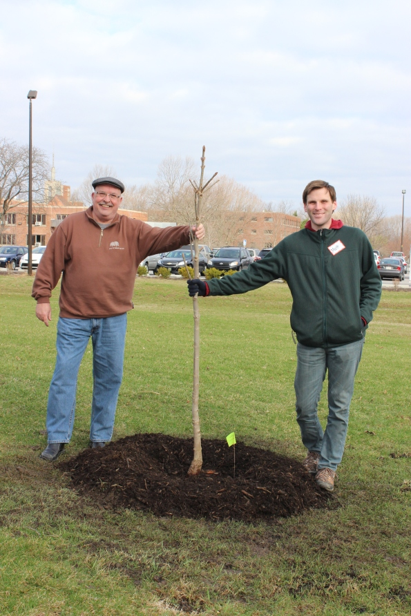 Benedict Inn Tree Planting