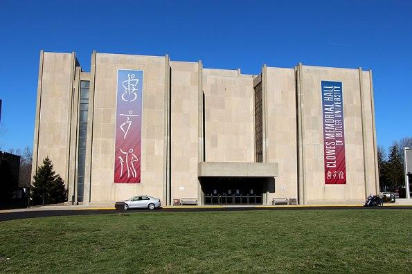 Clowes Memorial Hall