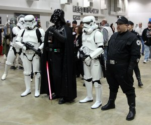 Darth Vader and crew.