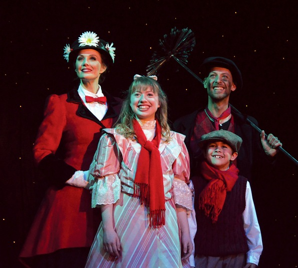 """""""Mary Poppins"""" at Beef & Boards Dinner Theatre."""