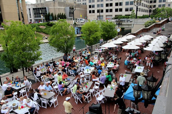 'Concerts on the Canal' at the Indiana History Center