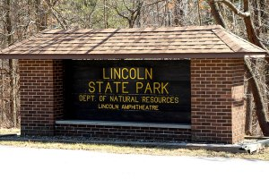 Lincoln State Park in Spencer County, Indiana.