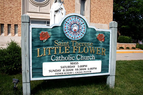 Little Flower Catholic Church in Indianapolis