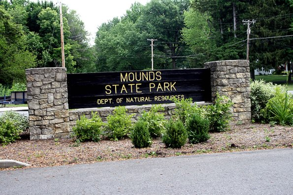 Mounds State Park, Anderson, Indiana