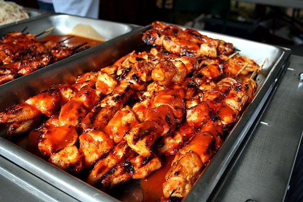 Filipino Chicken at the Mid-Summer Festival.