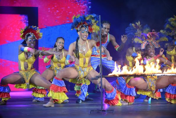 UniverSoul Circus Firedance