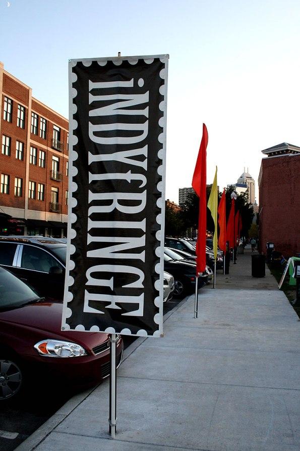 IndyFringe Street Sign