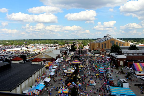 Indiana State Fair Aerial View