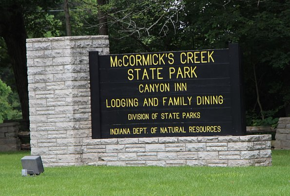 McCormick's Creek State Park in Owen County, Indiana.