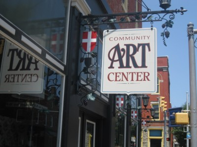 Community Art Center in Vevay, Indiana.