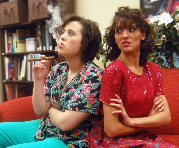 """Odd Couple"" (female version) at UIndy Theatre"