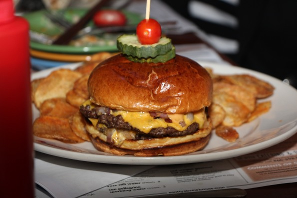 Manimal Smash Burger