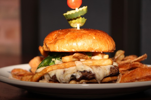 Roasted Jalapeno Poutine Burger