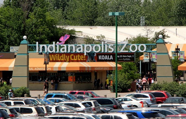 Indianapolis Zoo.