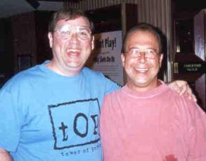 With Emilio Castillo, May 2000.