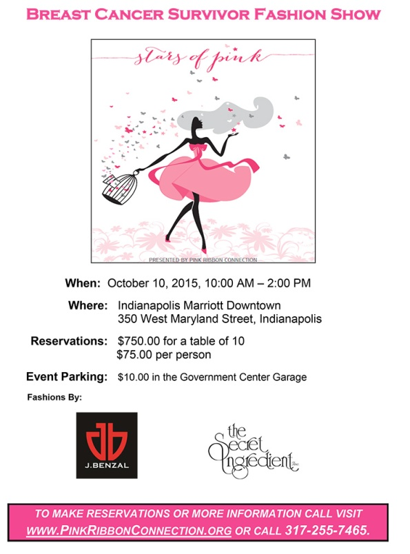 Breast Cancer Survivor Fashion Show