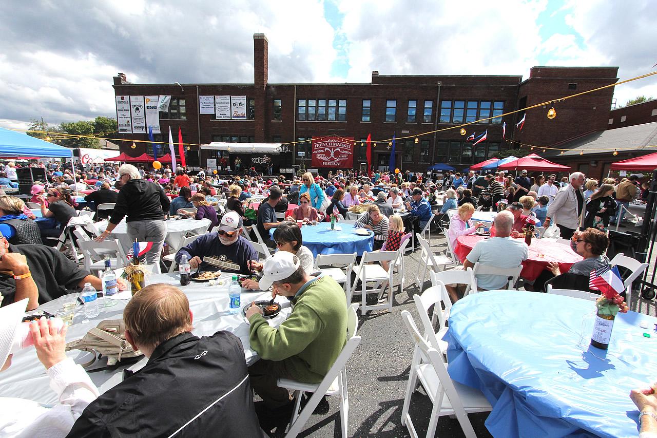 French Market Festival At Saint