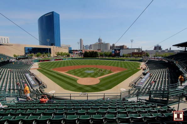 Victory Field in downtown Indianapolis, Indiana
