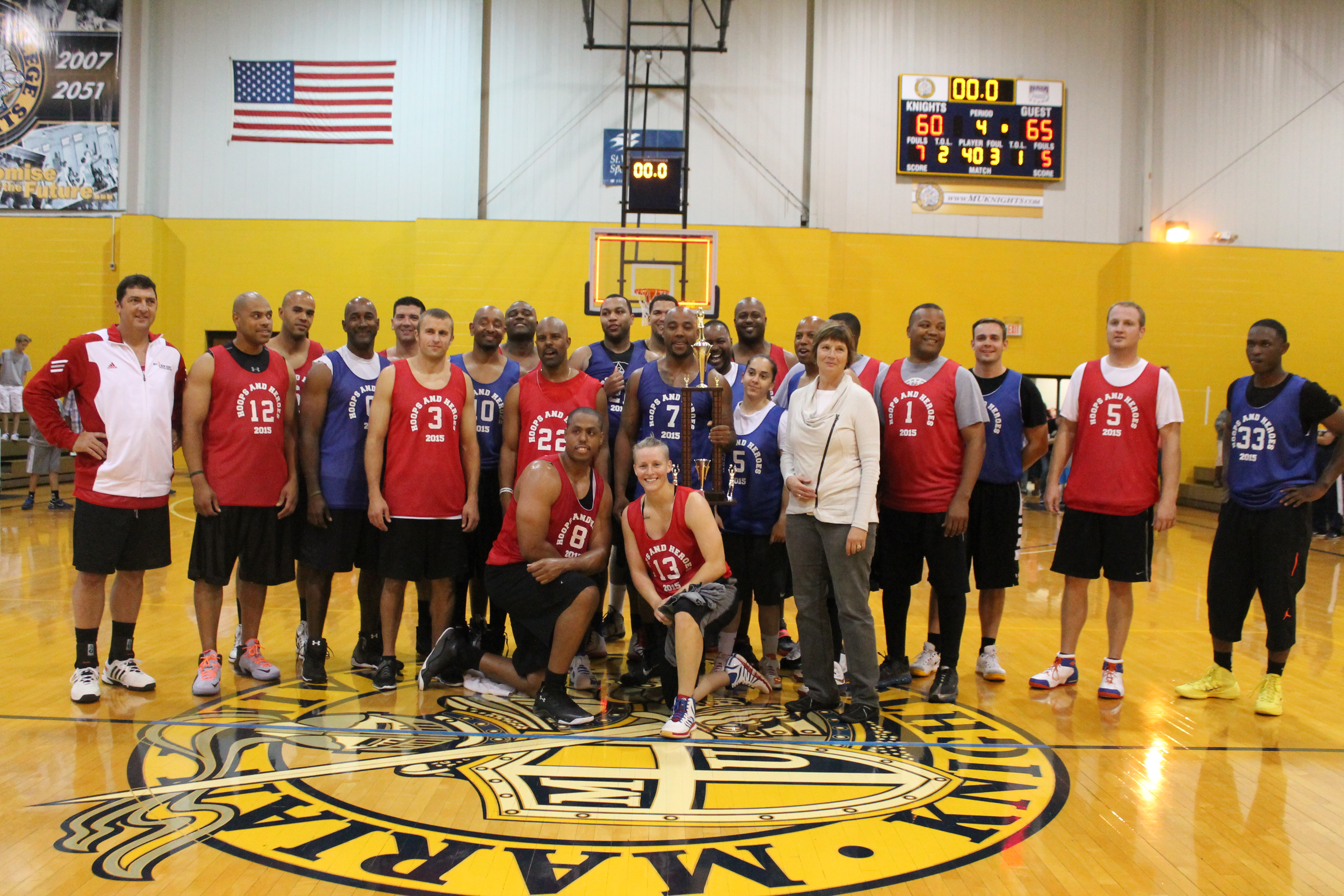 Hoops for hope celebrity charity basketball game
